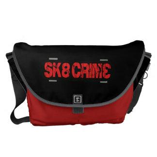SK8 Crime Messenger Bag Large
