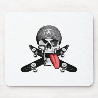 Sk8tr Skull Mouse Pad