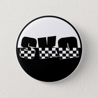 Ska 2 Inch Round Button
