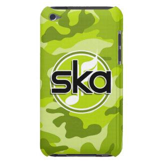 Ska bright green camo camouflage iPod Case-Mate cases