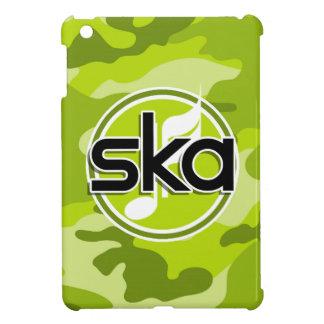Ska bright green camo camouflage iPad mini covers