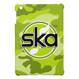 Ska bright green camo camouflage cover for the iPad mini