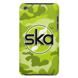 Ska camo vert clair camouflage coques barely there iPod