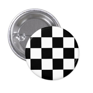 Ska Checks 1 Inch Round Button