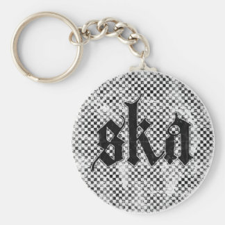 Ska Keychain