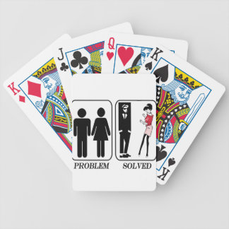 Ska Problem Solved Bicycle Playing Cards