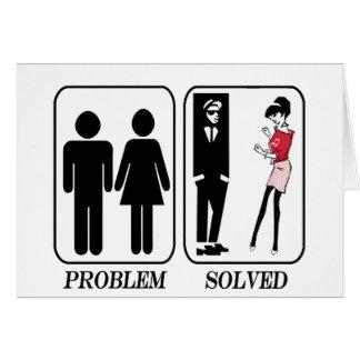 Ska Problem Solved Card