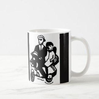 Ska scooter coffee mug
