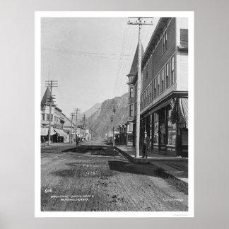 Skagway Alaska Broadway 1918 Poster