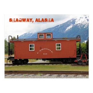 Skagway, Alaska Postcard