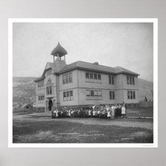 Skagway, Alaska Public School 1906 Poster