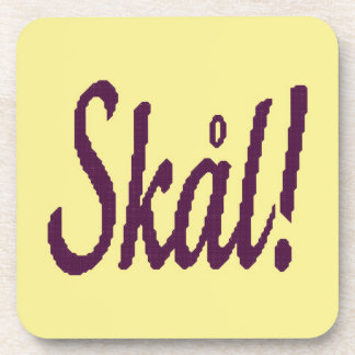 Skal! Norwegian Cheers Coasters