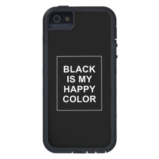 SKAM - BLACK IS MY HAPPY COLOR iPhone 5 COVER
