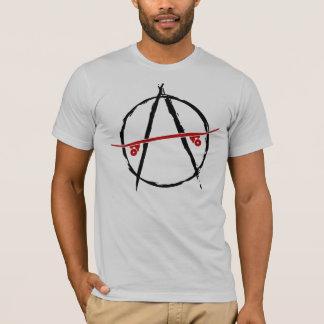 skate anarchy light t-shirt