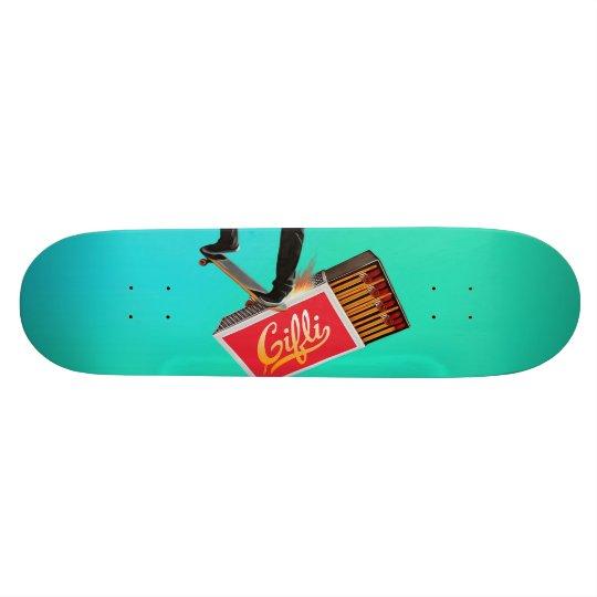 Skate and Blaze Custom Skateboard