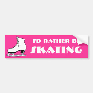 Skate Bumper Sticker