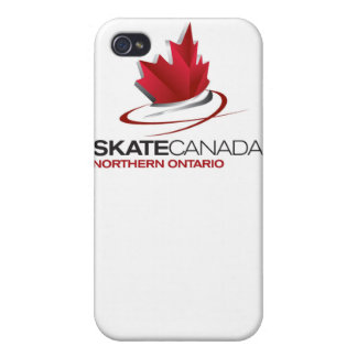 Skate Canada Northern Ontario Logo iPhone 4 Cases