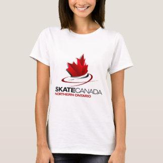 Skate Canada Northern Ontario Logo T-Shirt
