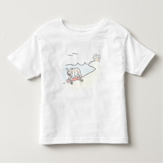 Skate Dog -- Pam Kapchinske Art Toddler T-shirt