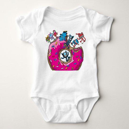 Skate doughnut baby bodysuit