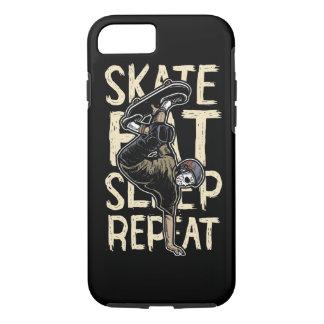 Skate Eat Sleep Repeat Tough Phone Case