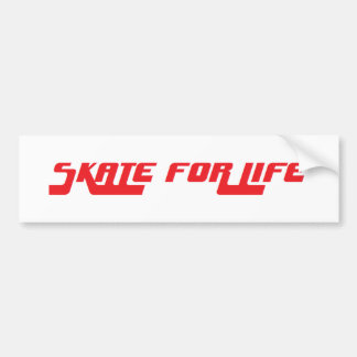 Skate for Life retro sticker