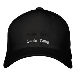 skate gang embroidered hats