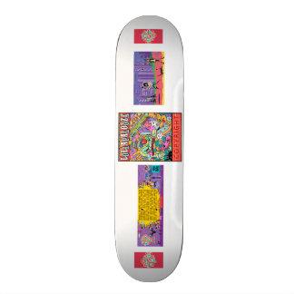 Skate lolapalooza skate board deck