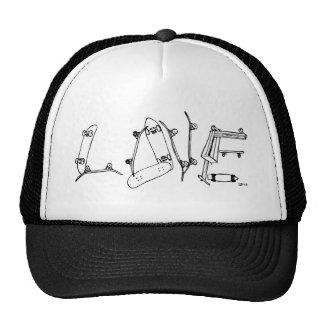 skate-love trucker hat