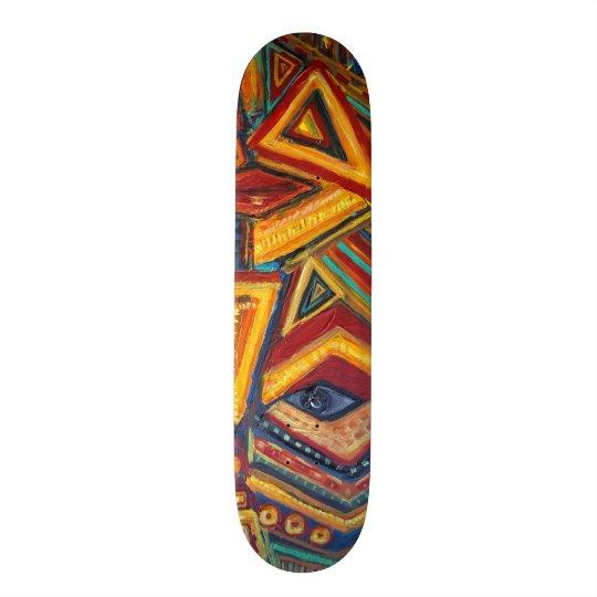 skate mask custom skateboard