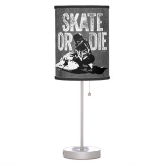Skate Or Die (Hockey) Table Lamp