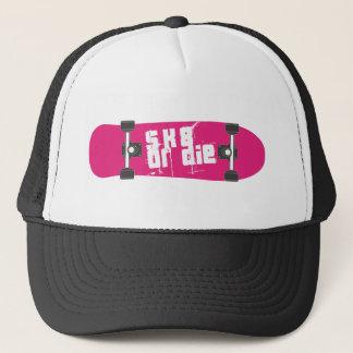 skate or die trucker hat