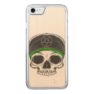Skate Rock Skull Carved iPhone 8/7 Case