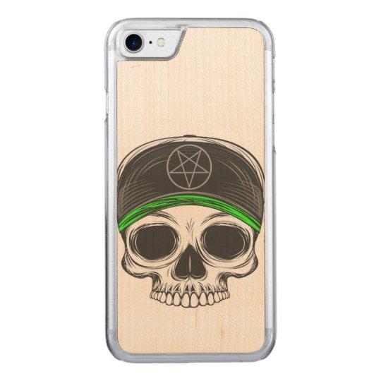 Skate Rock Skull Carved iPhone 8/7 Case