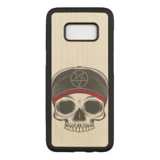 Skate Rock Skull Carved Samsung Galaxy S8 Case