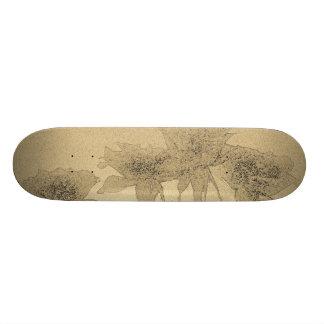 Skate Roses Custom Skateboard