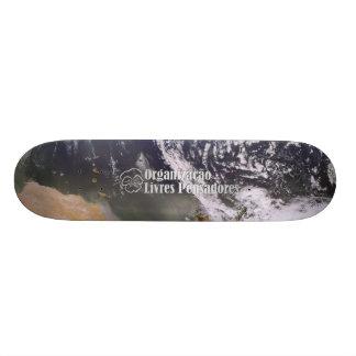 Skate seen Land of the Space Skateboard