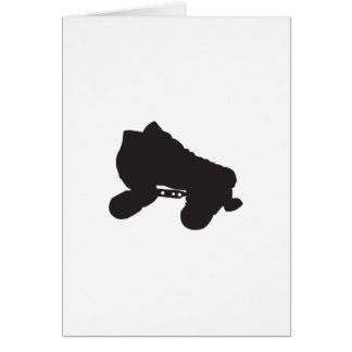 Skate Silhouette Card