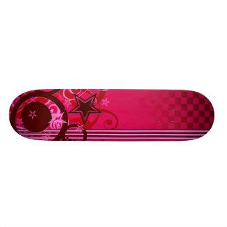 "Skate ""Stars and circles "" Custom Skateboard"