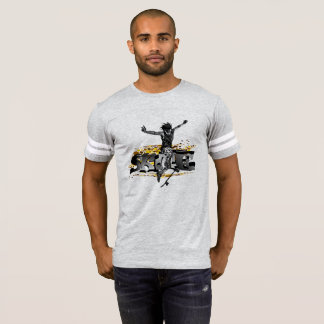 #Skate T-shirt for men in grey