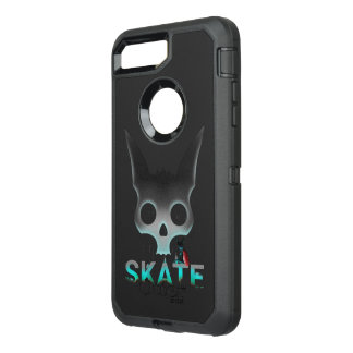 Skate Urban Graffiti Cool Cat OtterBox Defender iPhone 8 Plus/7 Plus Case