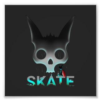 Skate Urban Graffiti Cool Cat Photo Print
