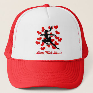 SKATE WITH HEART CAP