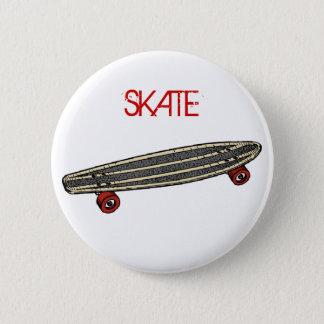Skateboard 2 Inch Round Button