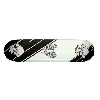 skateboard angel dog