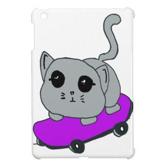 skateboard cat ipad mini case