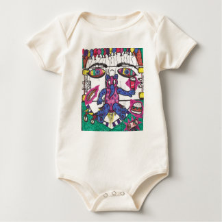 Skateboard Confusion! Baby Bodysuit