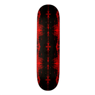 Skateboard Deck; Mutant X-RAY Design, Crimson