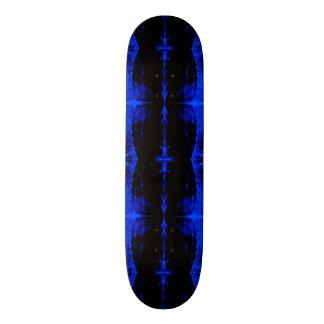 Skateboard Deck; Mutant X-RAY Design, Elec. Blue