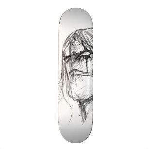 Skateboards Dessin Noir Blanc Zazzle Ca